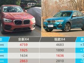 宝马全新X4曝光 尺寸加长/月底正式开卖