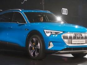 纯电动SUV奥迪e-tron量产版车型首发亮相