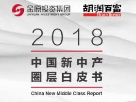 胡润研究院发布《2018中国新中产圈层白皮书》