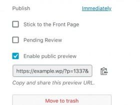 WordPress预览文章链接 给非登录用户查看实现方法