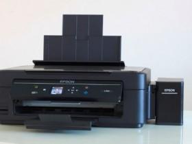 更省更智能 爱普生L455墨仓式打印机