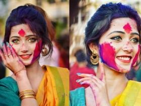 刷屏的印度仙女Joyeeta Sanyal 碧绿眼睛神仙颜值