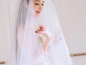 郭碧婷绝美婚纱照写真集!漂亮的像仙女