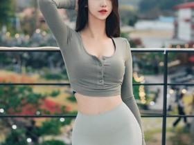 韩国美女健身教练前凸后翘 曲线玲珑有致气质秒杀明星