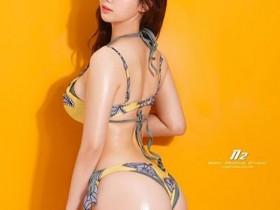 性感韩国模特 减肥的路上需要点赞支持