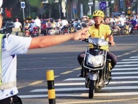 深圳交警:快递、外卖骑手违法最高处罚停驶2年